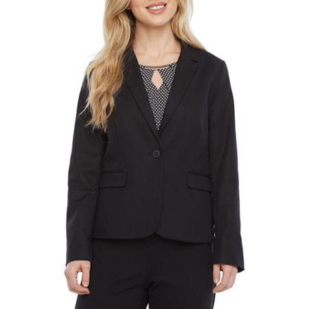 Liz Claiborne Suit Jacket, Petite Large , Black