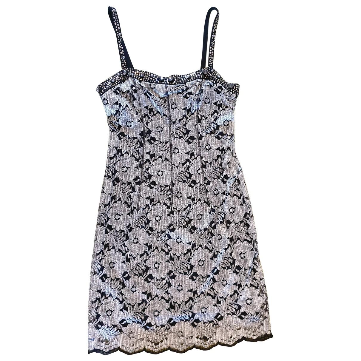 Non Signe / Unsigned \N Kleid in  Silber Viskose