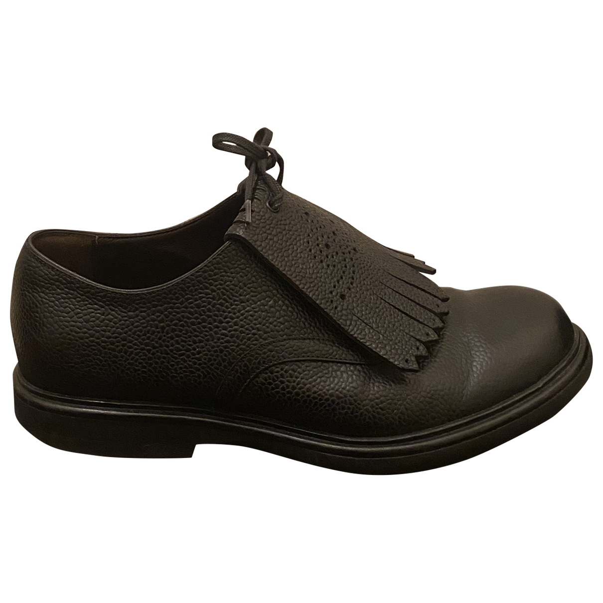 Bottega Veneta - Derbies   pour femme en cuir - noir