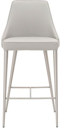 1618CS.SYN.LGRY Ivy Collection 1618Cs.Syn.Lgry Counter Stool In Light