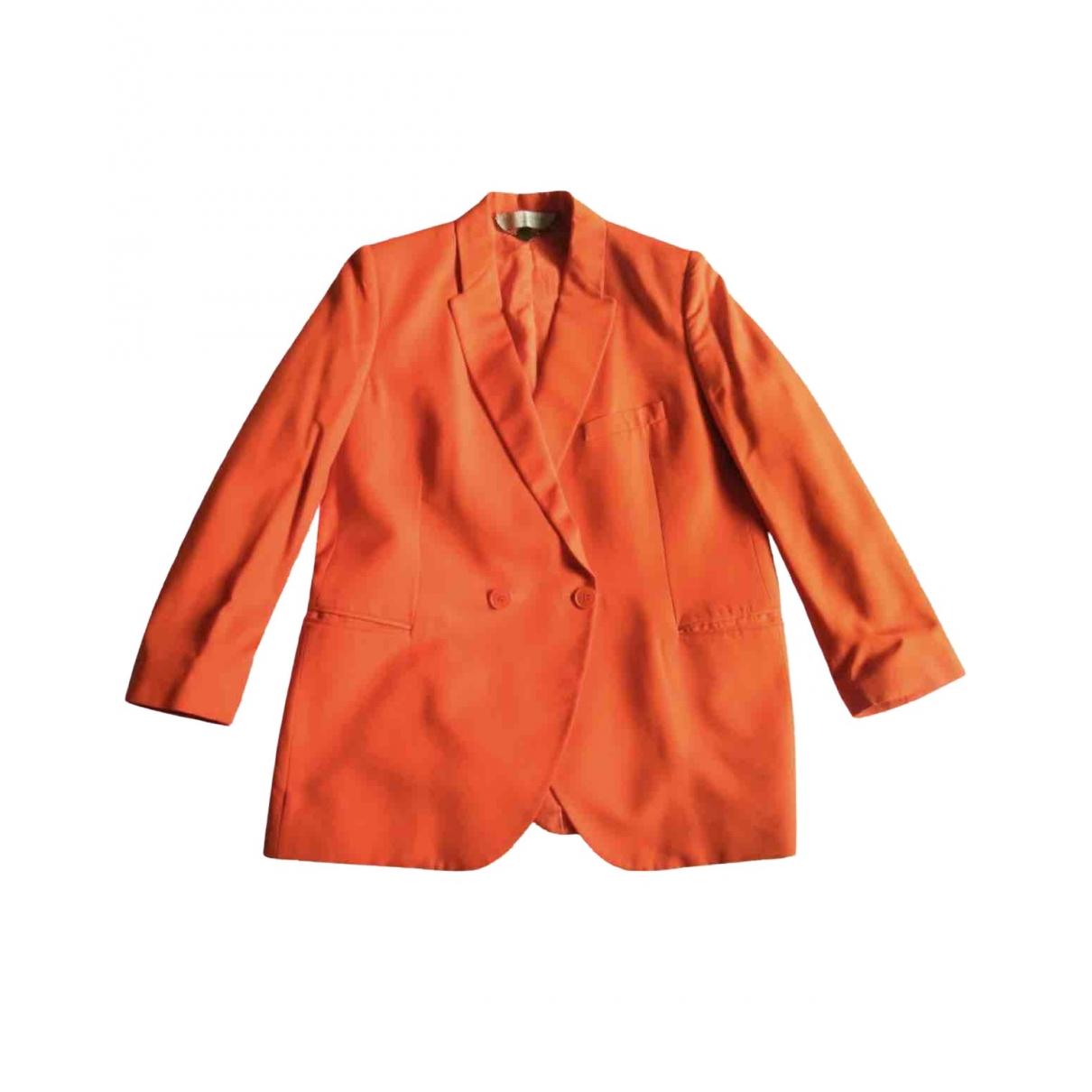 Stella Mccartney \N Jacke in  Orange Baumwolle