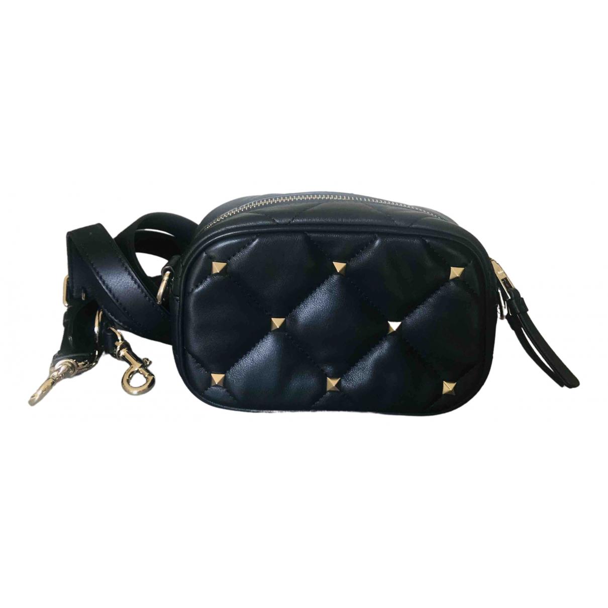 Valentino Garavani CandyStud Black Leather handbag for Women \N