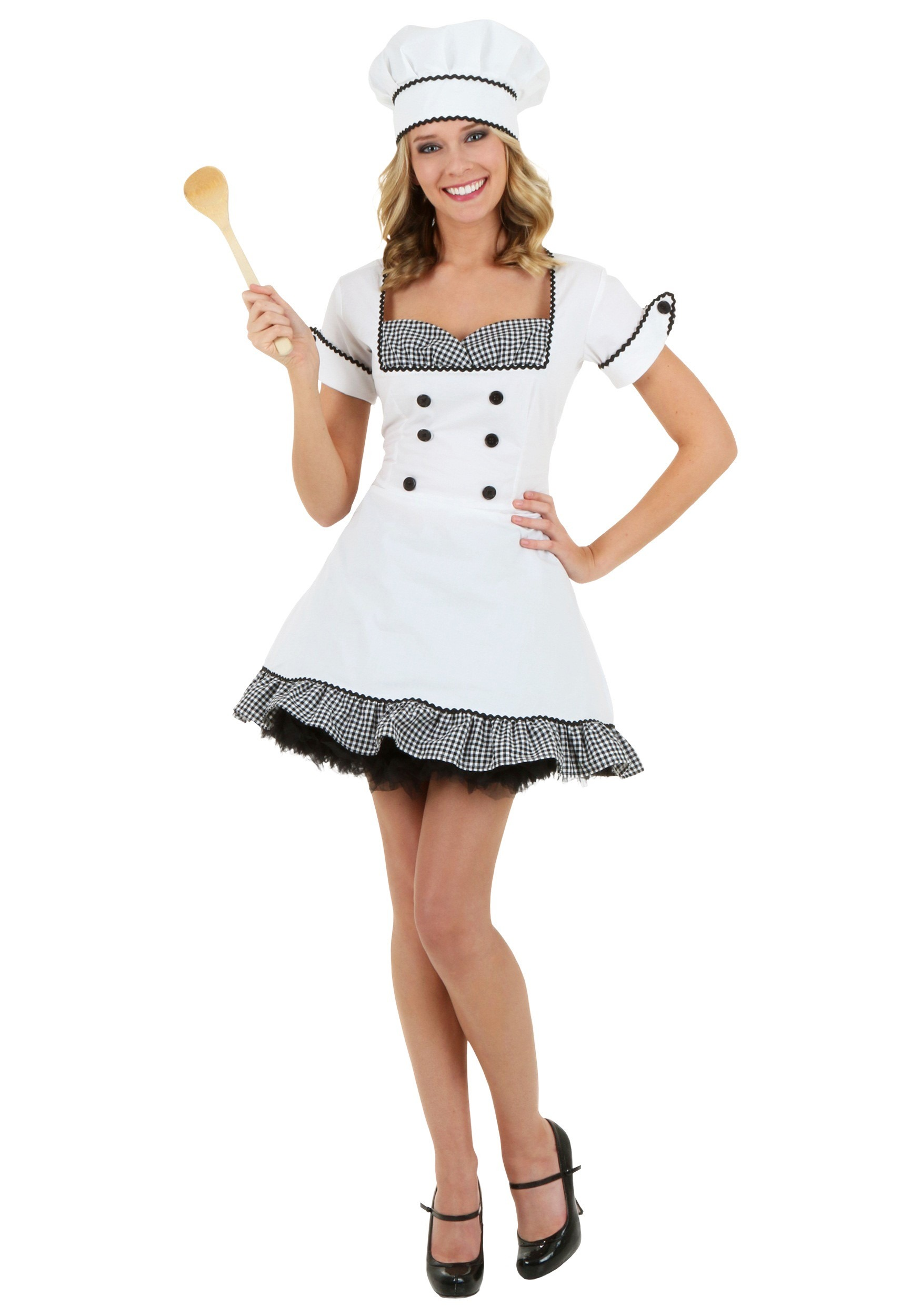 Sexy Chef Costume | Chef Halloween Costume For Women