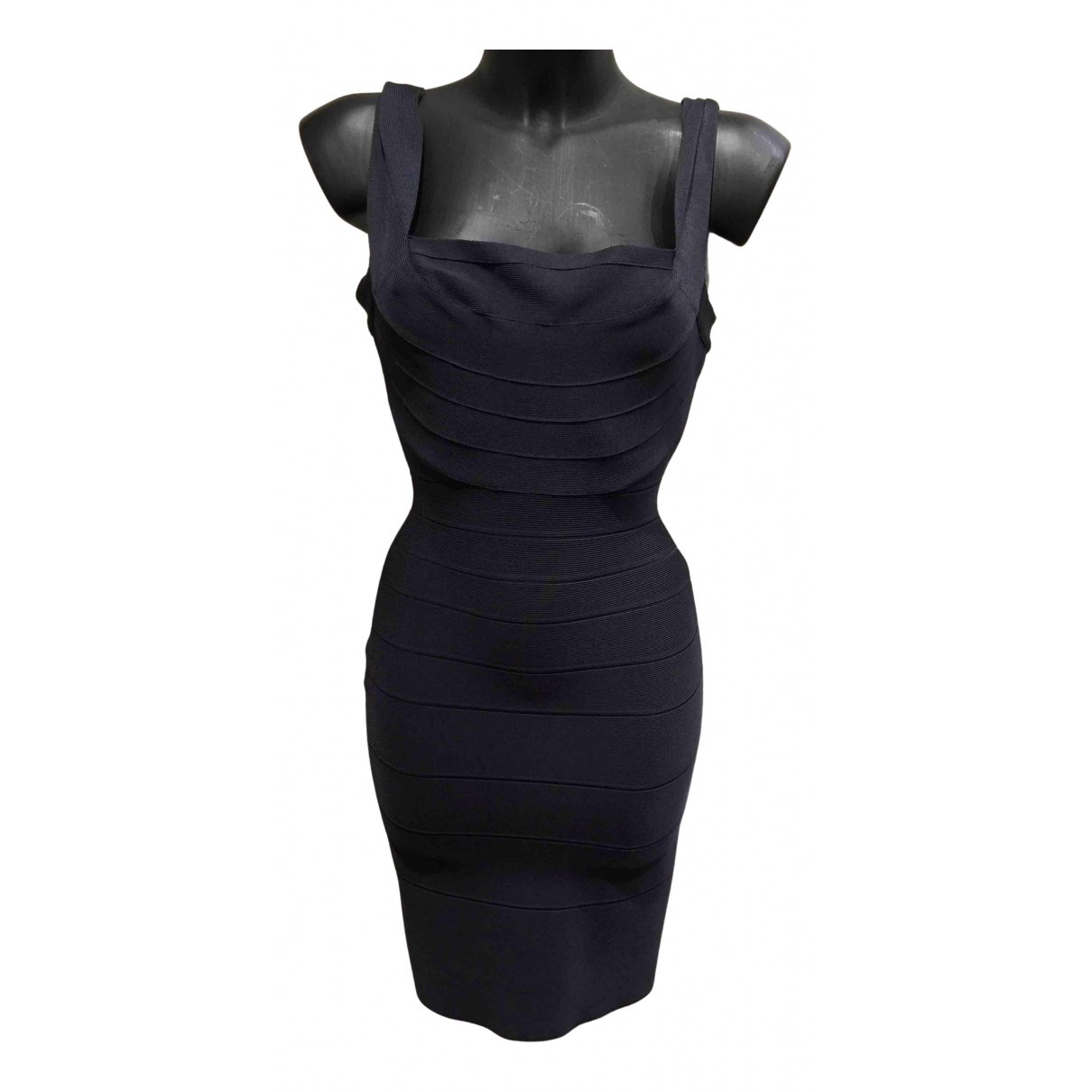Herve Leger N Blue dress for Women XS International