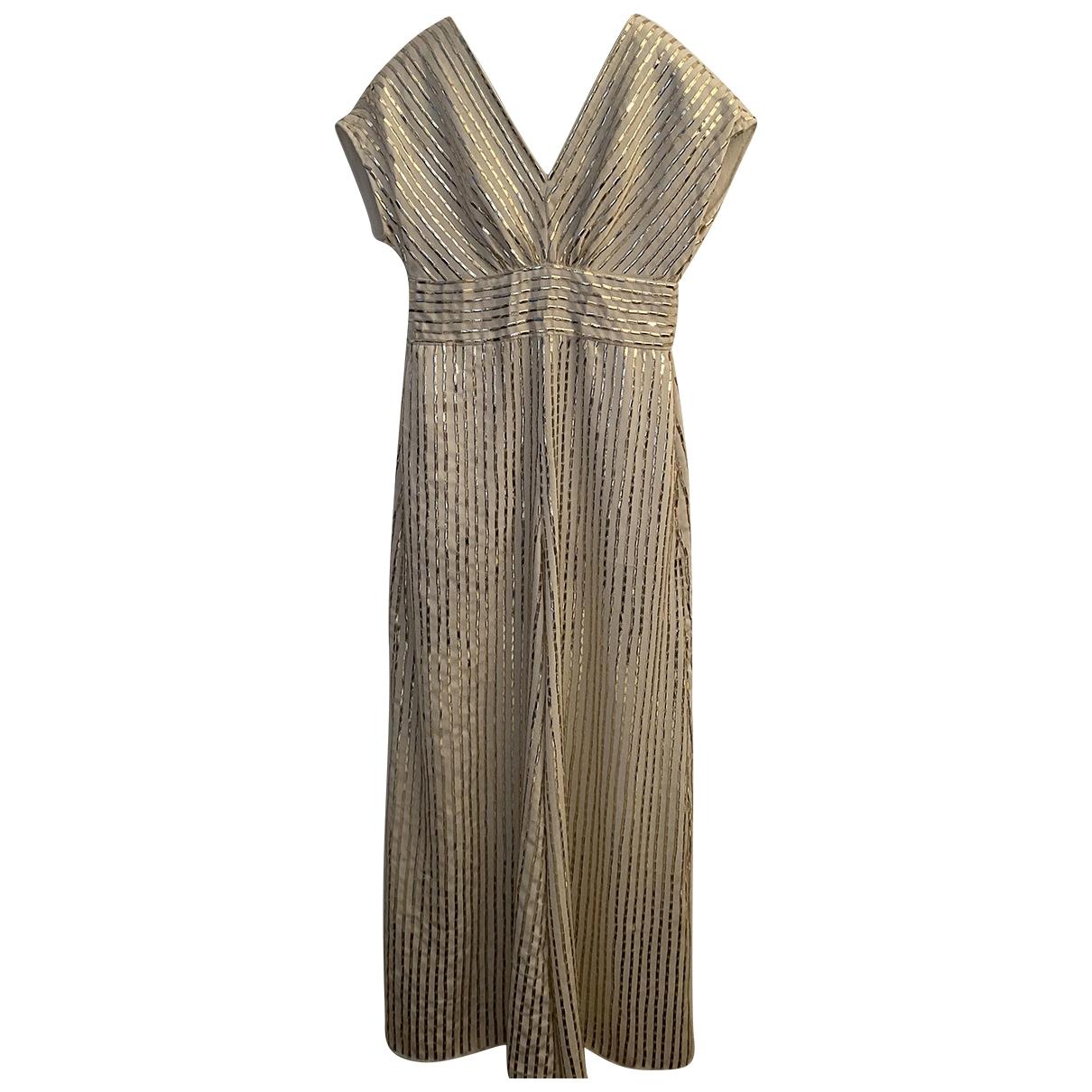 Temperley London - Combinaison   pour femme en soie - beige