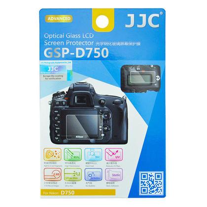JJC Nikon D750 Screen Protector Ultra-thin Optical Glass Static Adhesion
