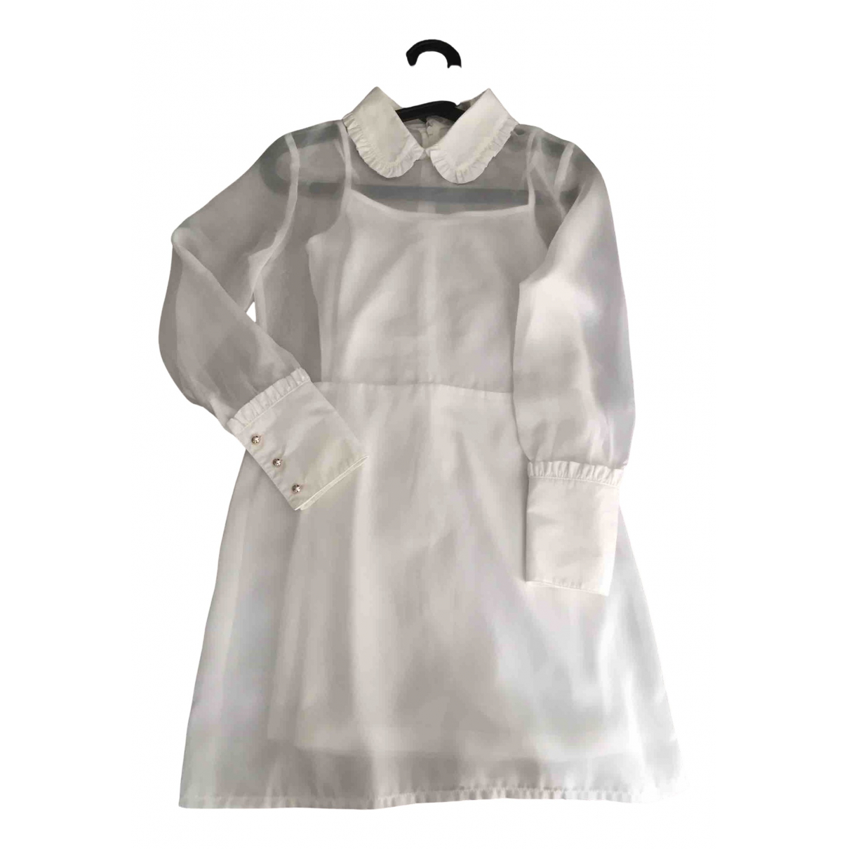 Non Signé / Unsigned N White dress for Women XS International