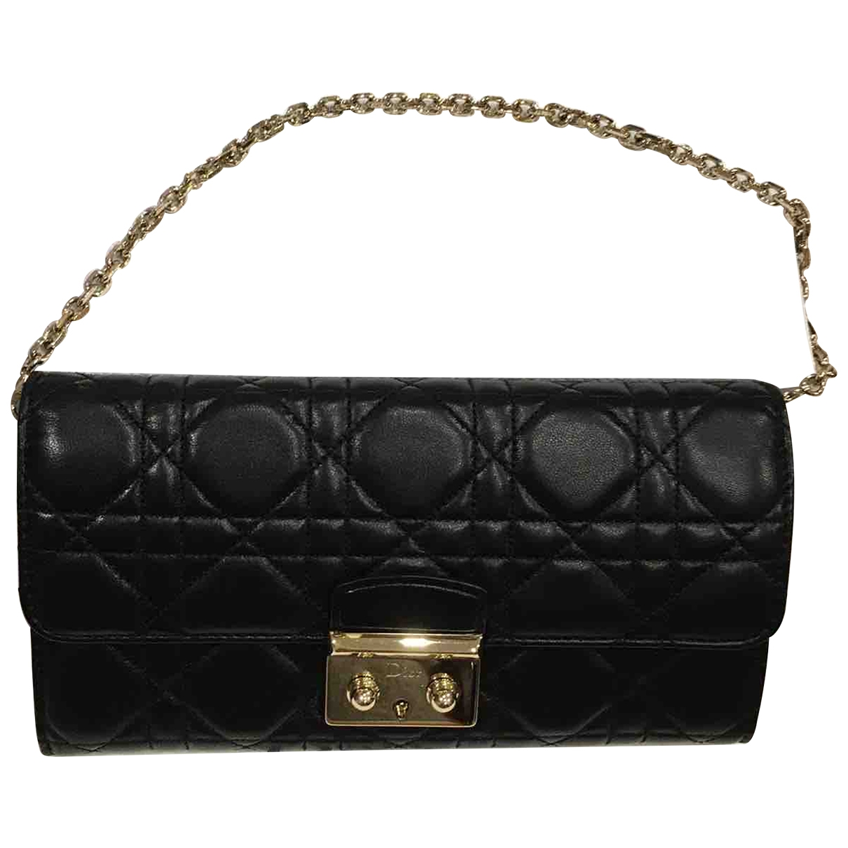 Dior Miss Dior Black Leather Clutch bag for Women \N