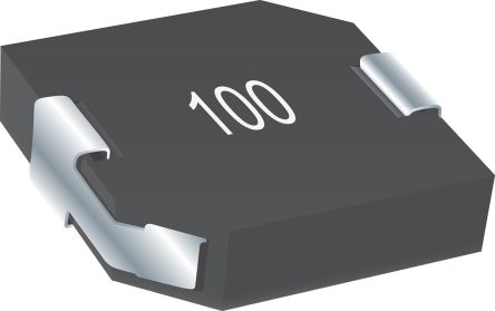Bourns , SRP1250, SMD Shielded Wire-wound SMD Inductor with a Iron Core, 10 μH ±20% Shielded 9A Idc (500)