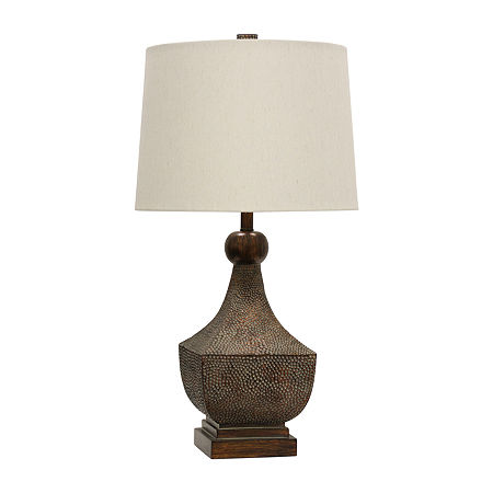 Stylecraft Brown Table Lamp, One Size , Brown