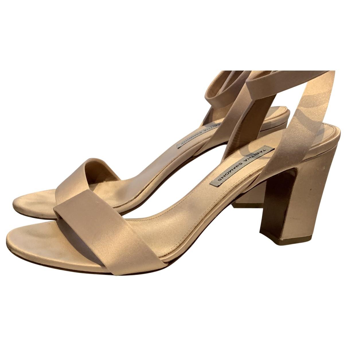 Tabitha Simmons \N Pink Leather Heels for Women 40 EU