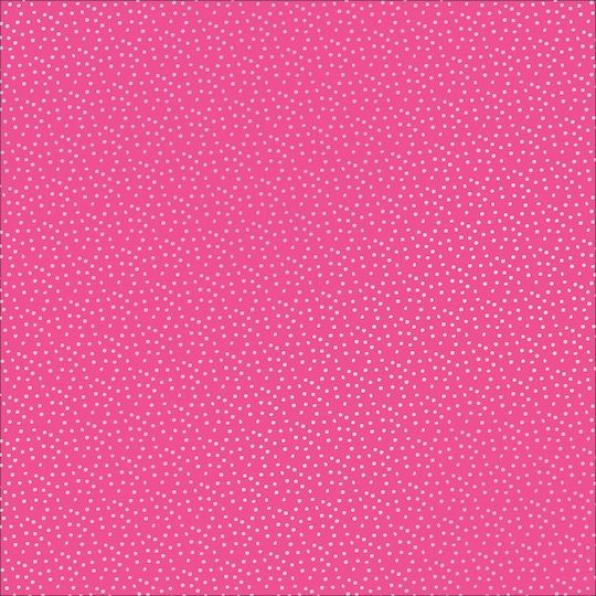 10 Pack of Pink With Silver Dots Paper By Recollections®, 12