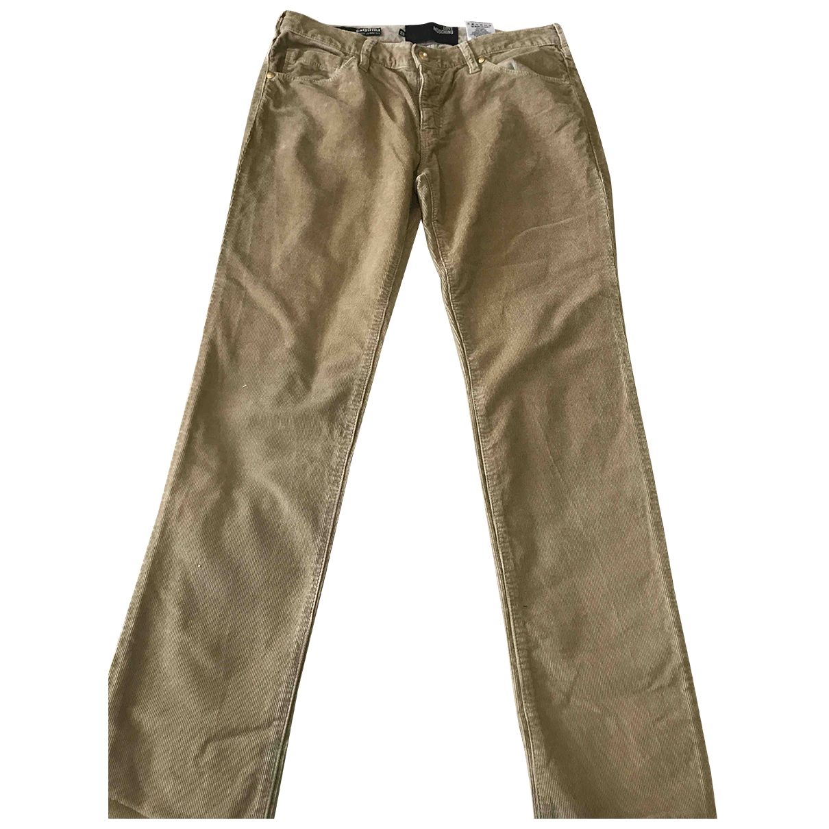 Pantalon pitillo de Terciopelo Moschino Love