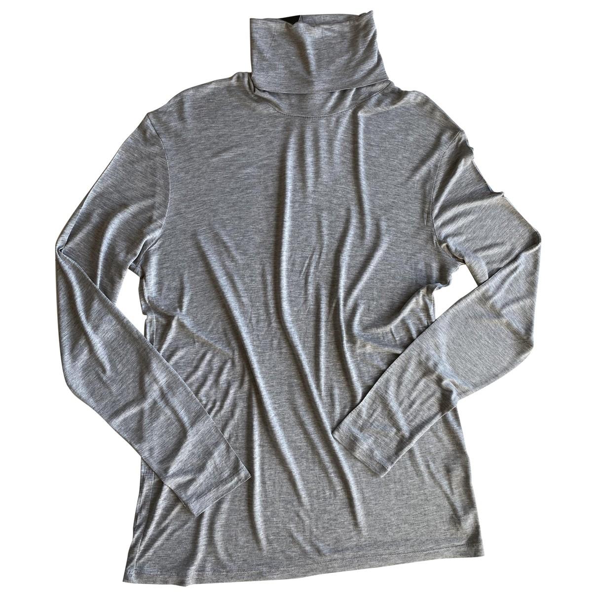 Zara \N Pullover.Westen.Sweatshirts  in  Grau Viskose
