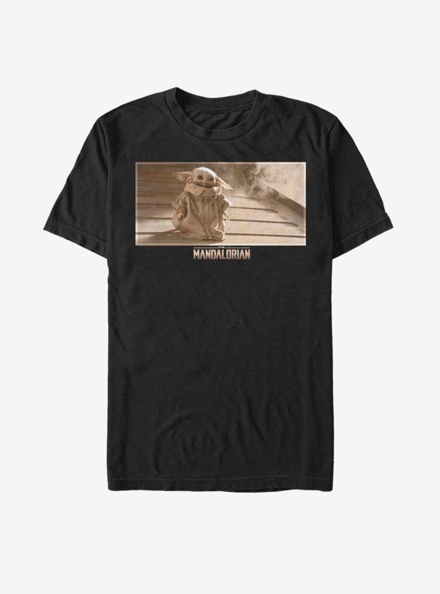 Star Wars The Mandalorian The Child Sepia Scene T-Shirt