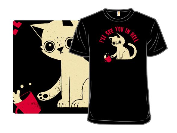 Bad Cat T Shirt