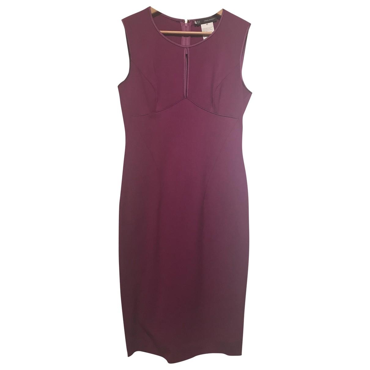 Dsquared2 \N Purple Wool dress for Women 40 IT