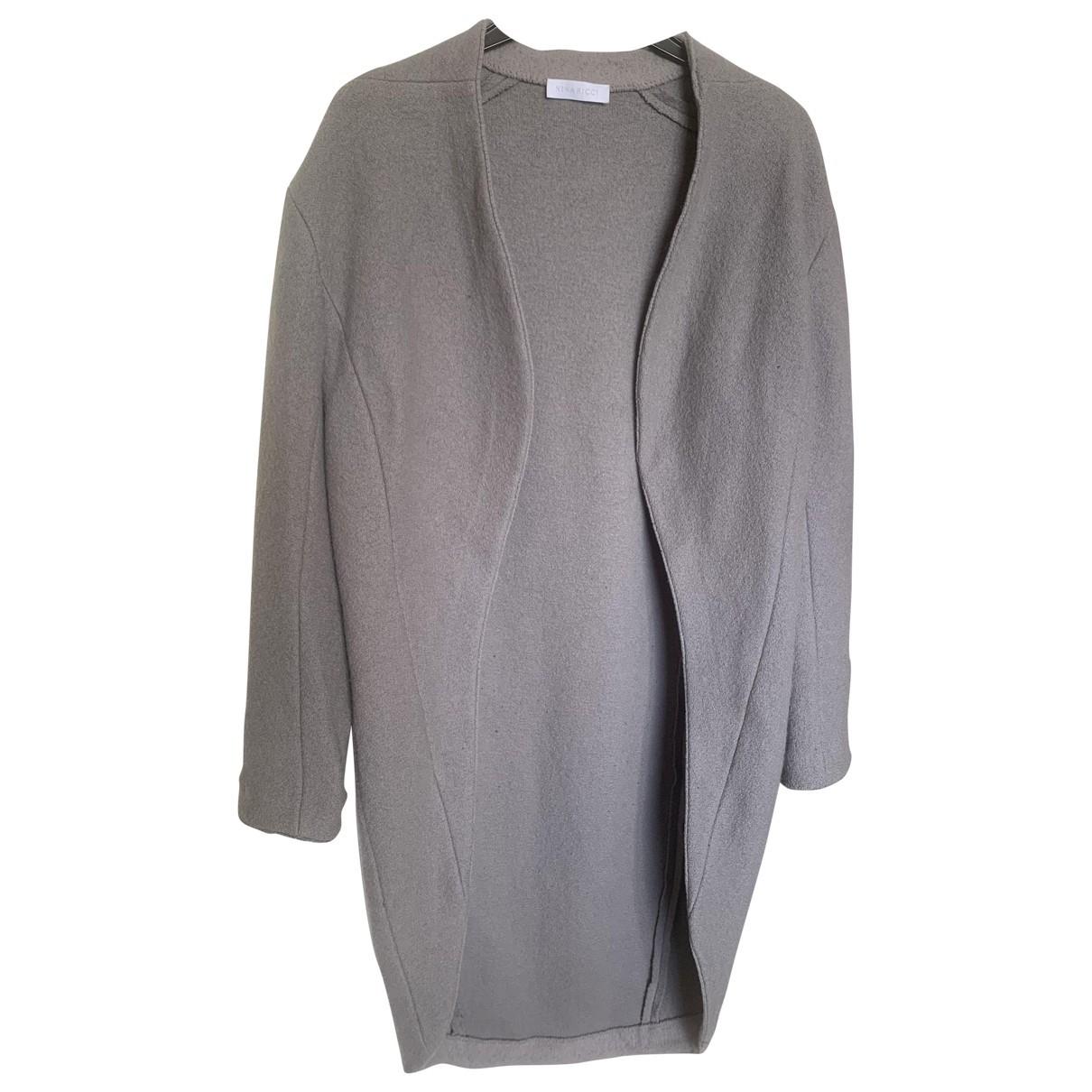 Nina Ricci \N Jacke in  Grau Wolle