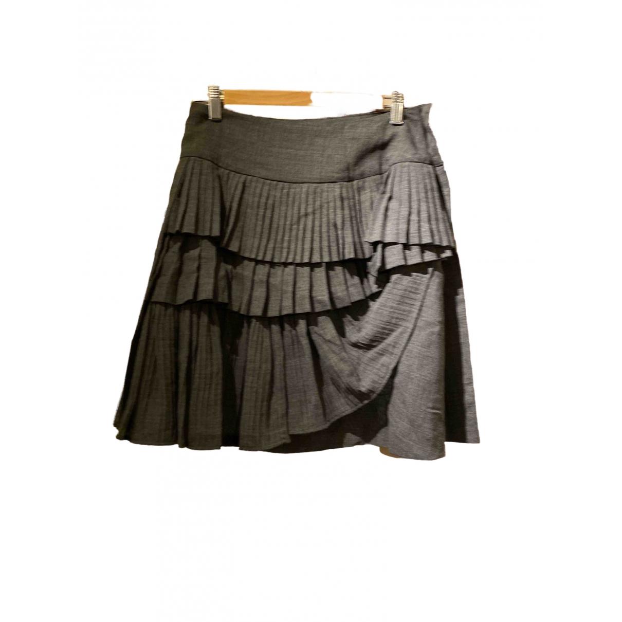 Sport Max \N Grey Wool skirt for Women 8 UK