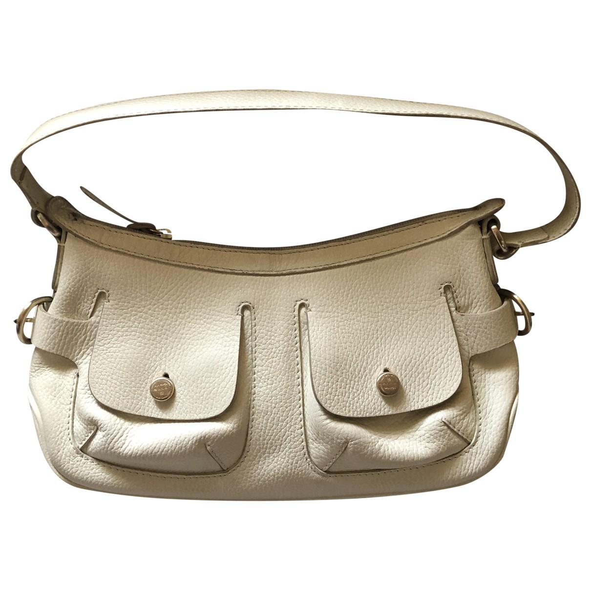 Lancel \N White Leather handbag for Women \N