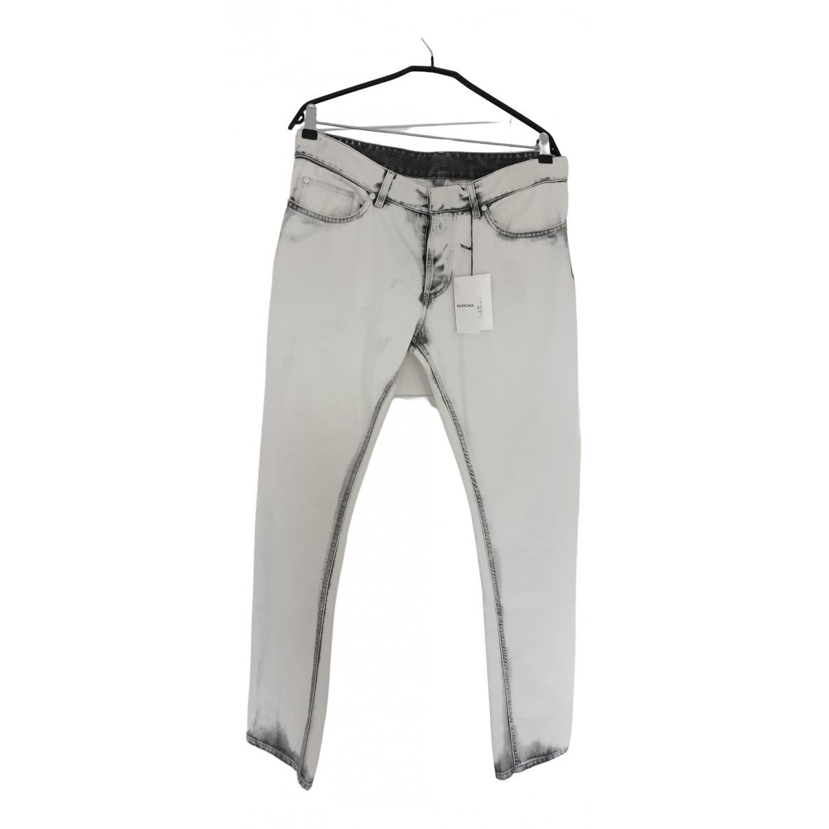 Balenciaga \N Multicolour Cotton Jeans for Men 33 US