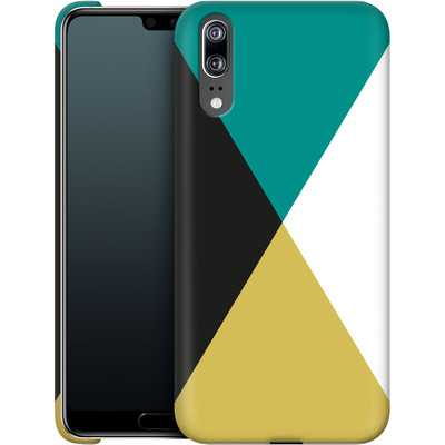 Huawei P20 Smartphone Huelle - Four Triangles von caseable Designs