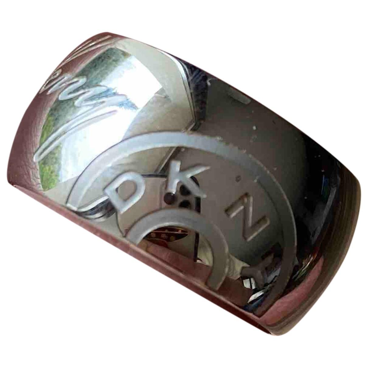 Dkny - Bague   pour femme en acier - gris