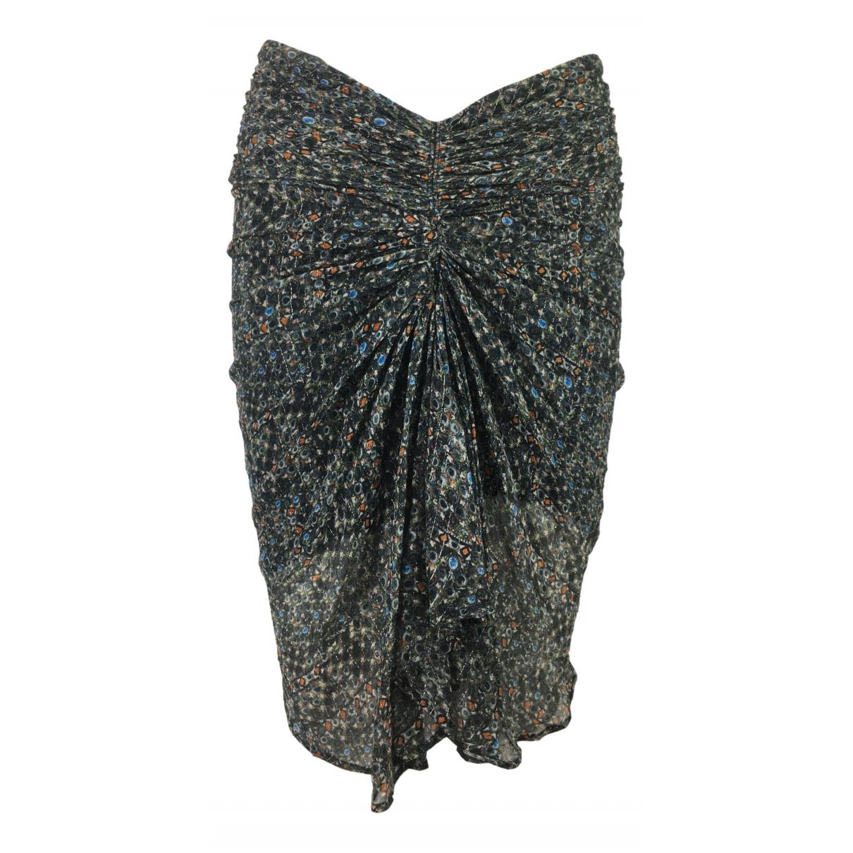 Isabel Marant Pour H&m - Jupe   pour femme en soie - multicolore