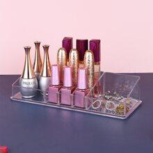 Caja de almacenamiento transparente de cosmetico