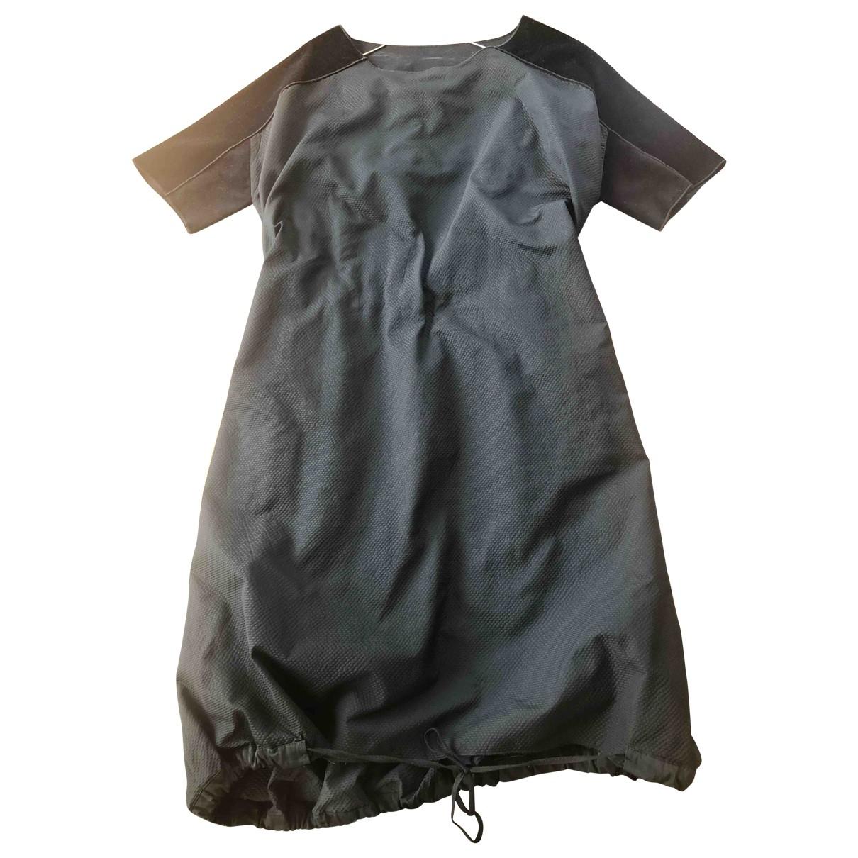 Hache \N Kleid in  Marine Polyester