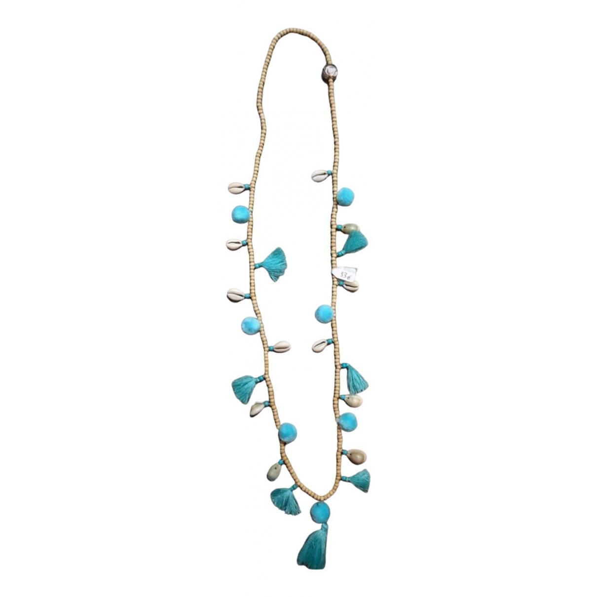 Hipanema - Collier   pour femme en metal - turquoise