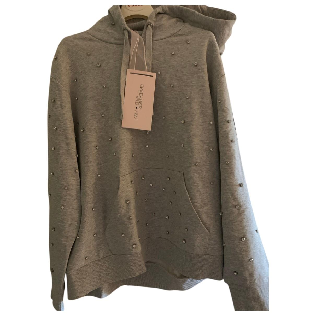Giambattista Valli X H&m \N Grey Cotton Knitwear for Women L International