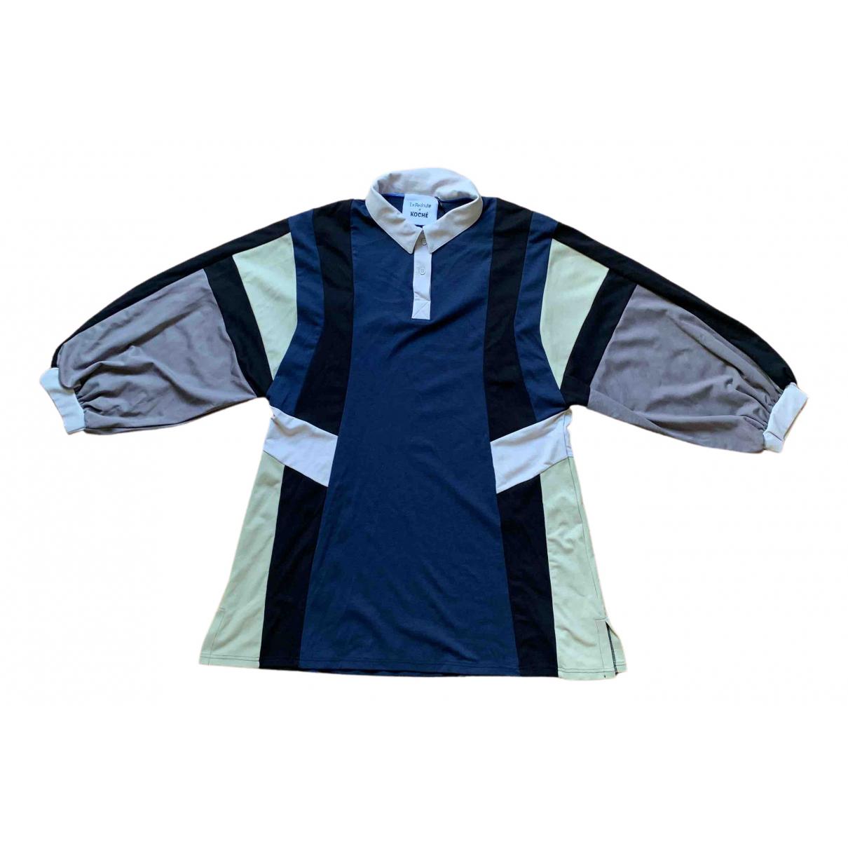 Koche N Blue dress for Women 42 FR