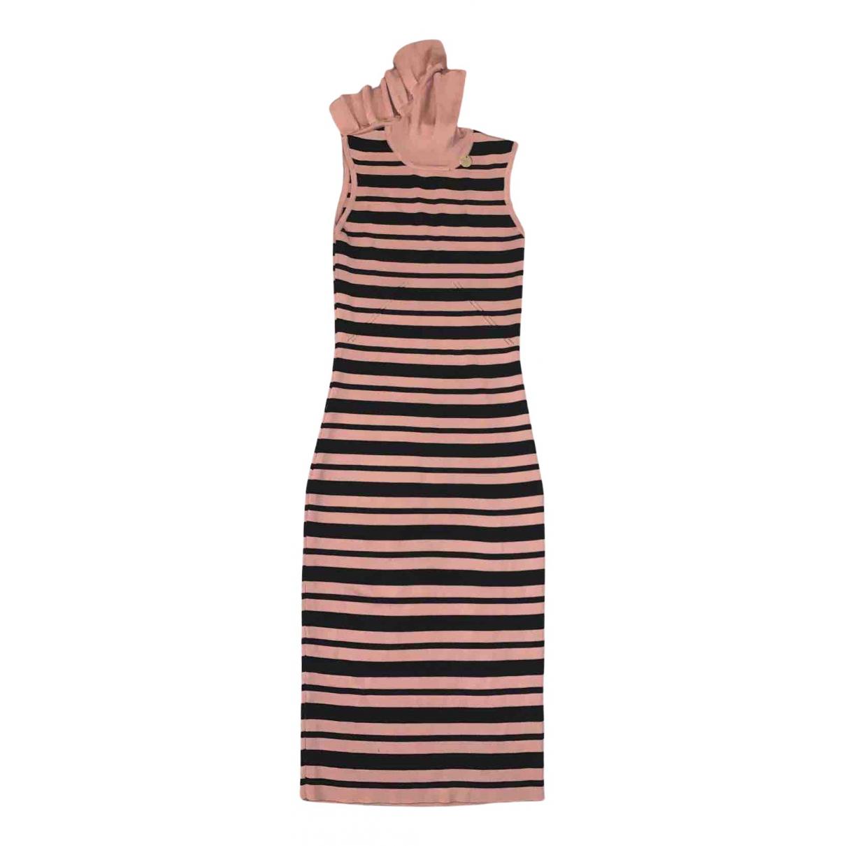 Mangano \N Kleid in Baumwolle - Elasthan