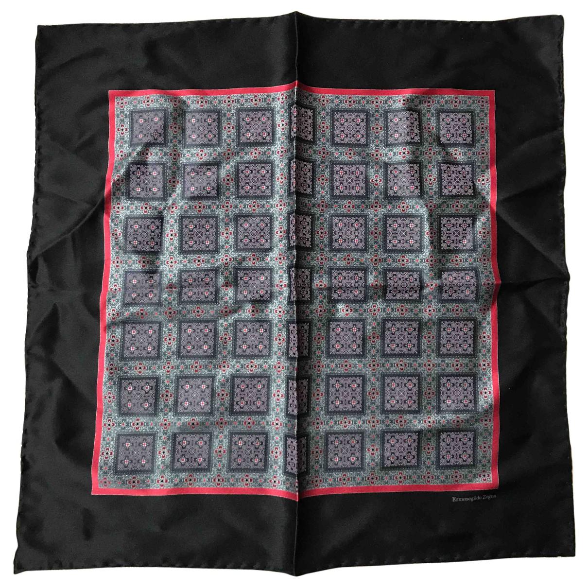 Ermenegildo Zegna N Multicolour Silk scarf & pocket squares for Men N