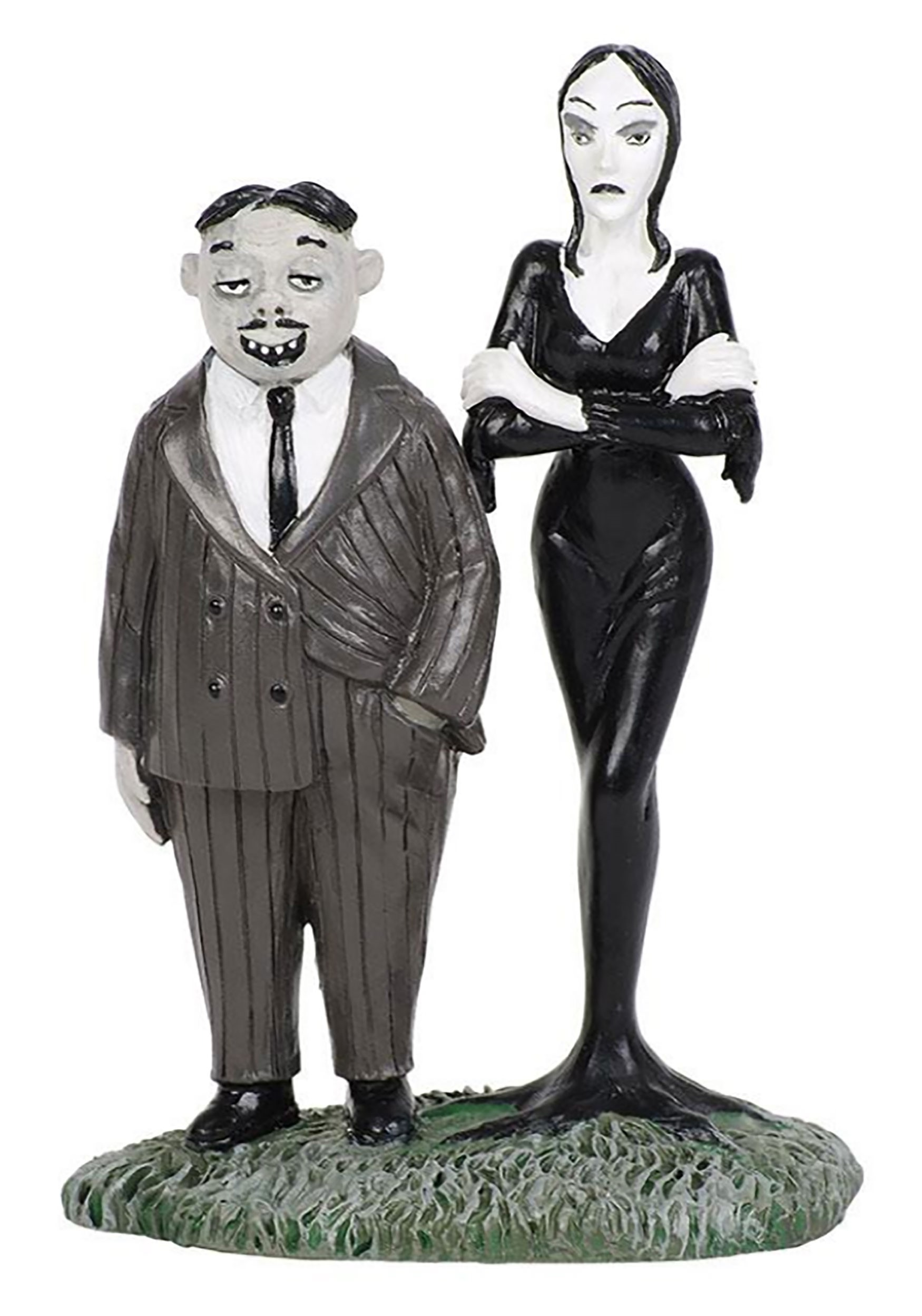Department 56 Addams Family Morticia and Gomez Figure