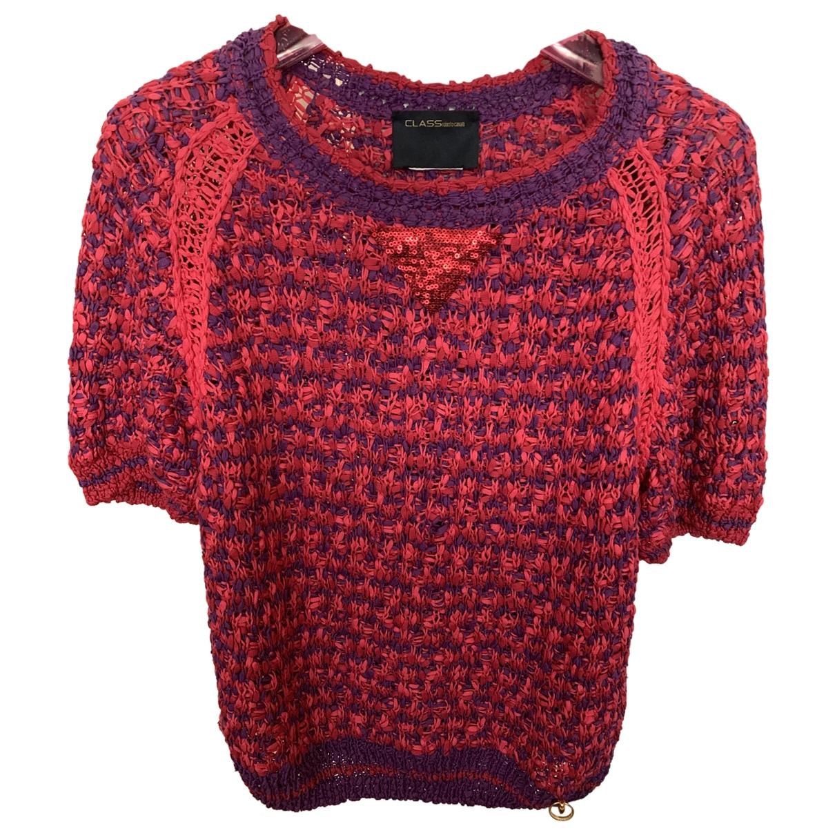 Roberto Cavalli - Top   pour femme en coton - violet