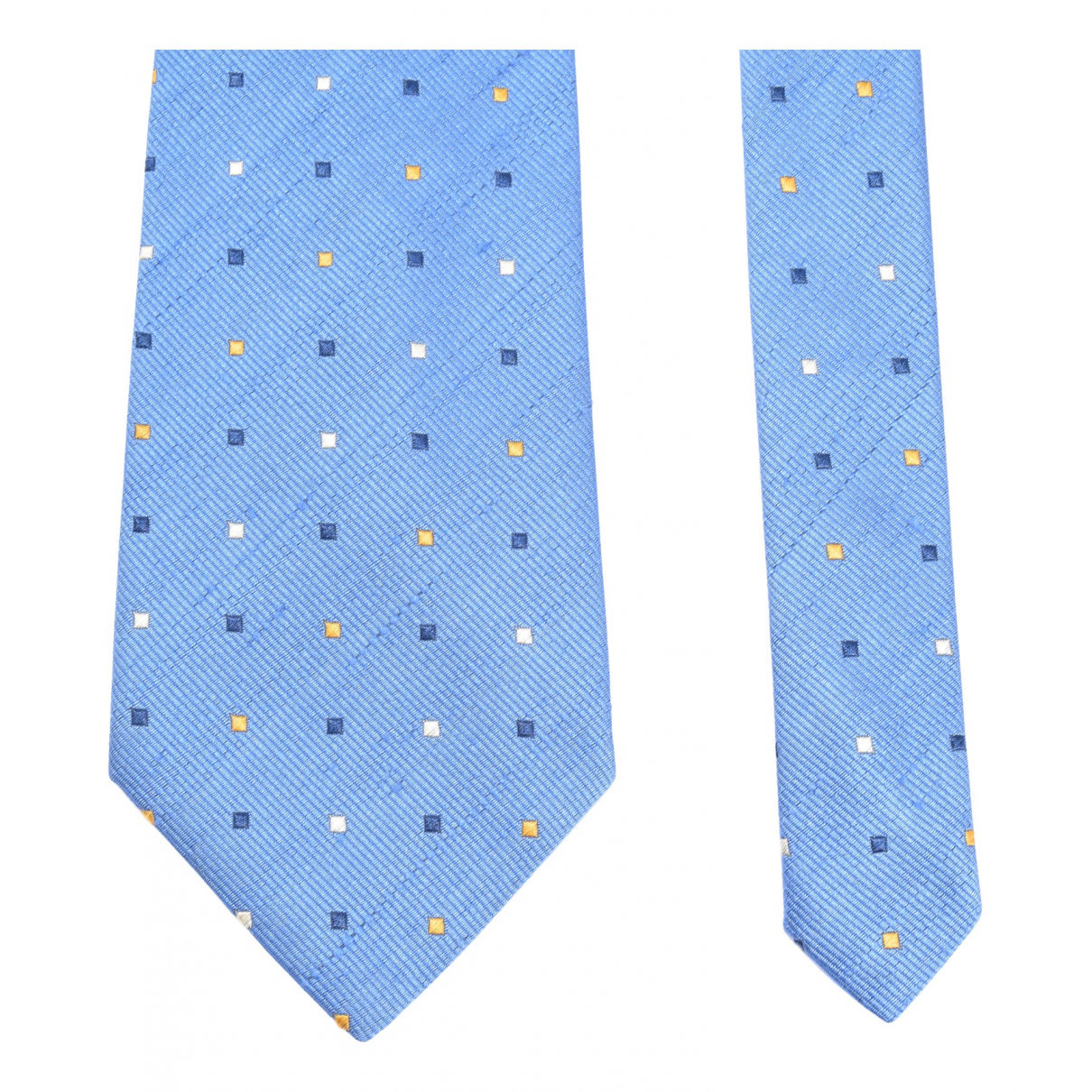 Lanvin N Blue Silk Ties for Men N