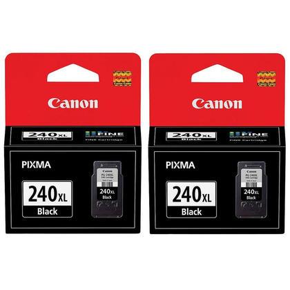 Canon PIXMA MX520 cartouche d'encre noire originale de haut rendement, paquet double