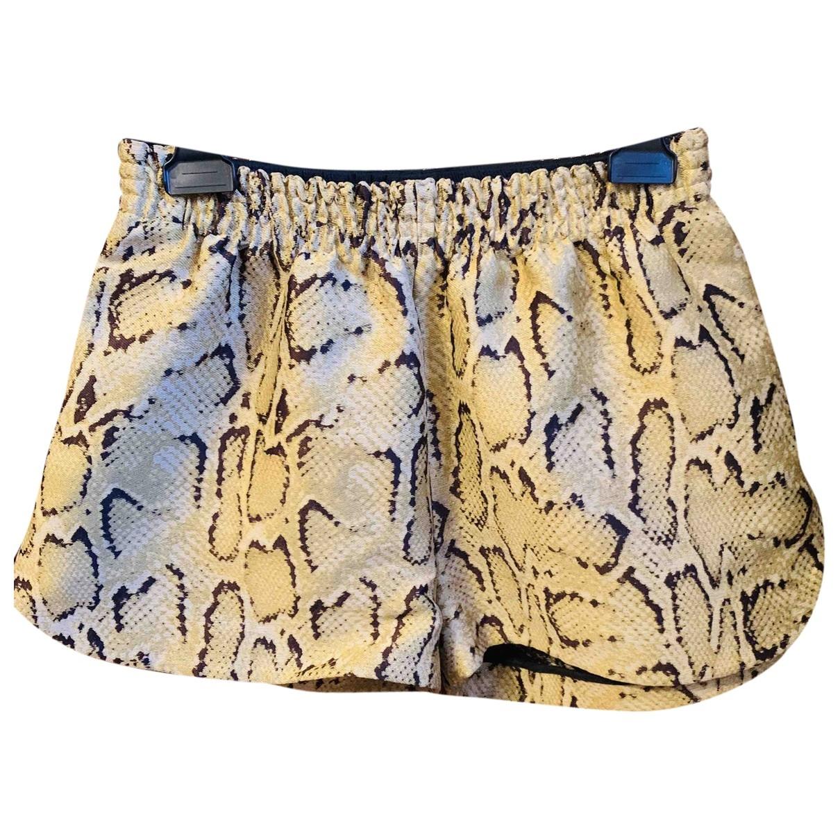 Stella Mccartney \N Shorts in  Gelb Polyester
