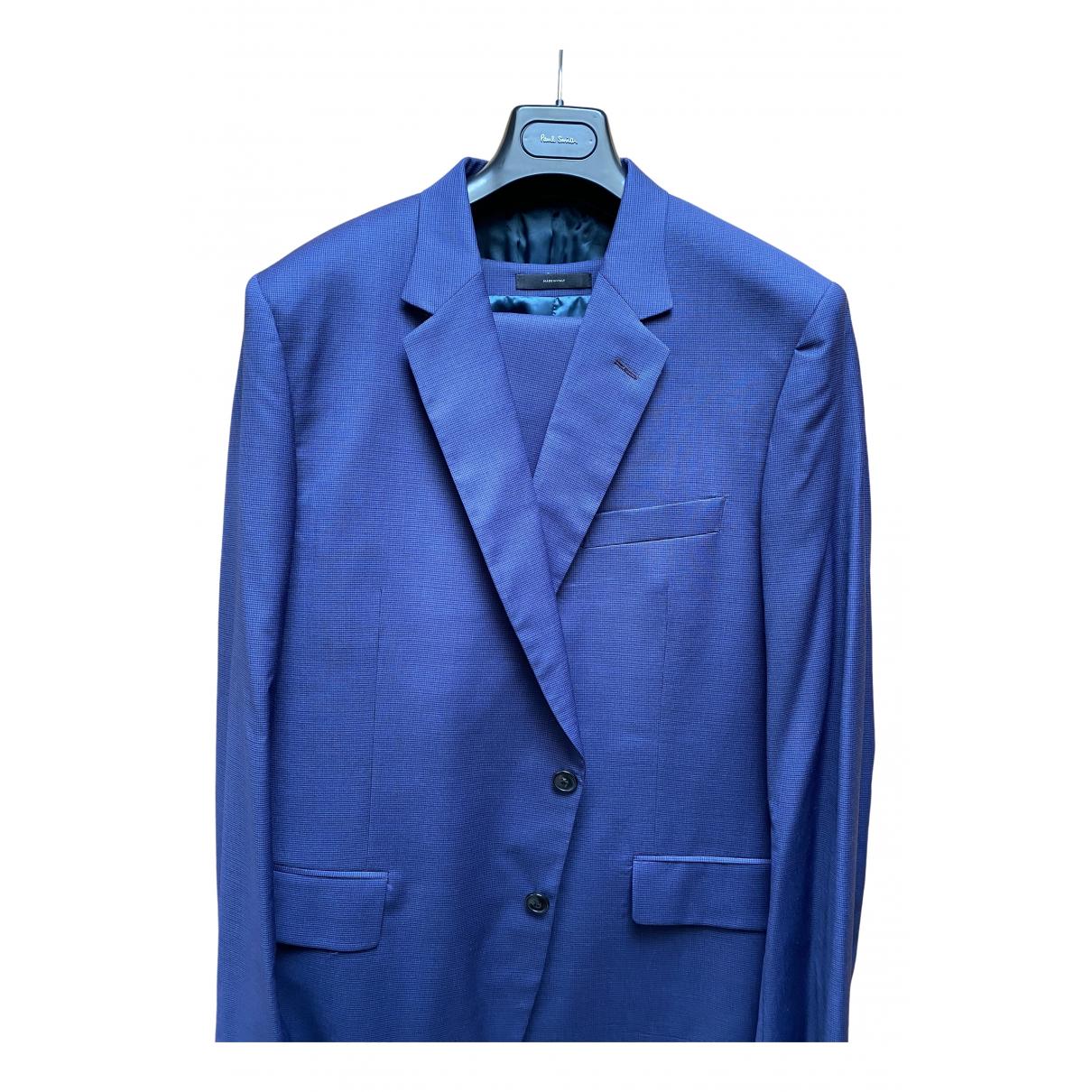 Paul Smith - Costumes   pour homme en laine - bleu