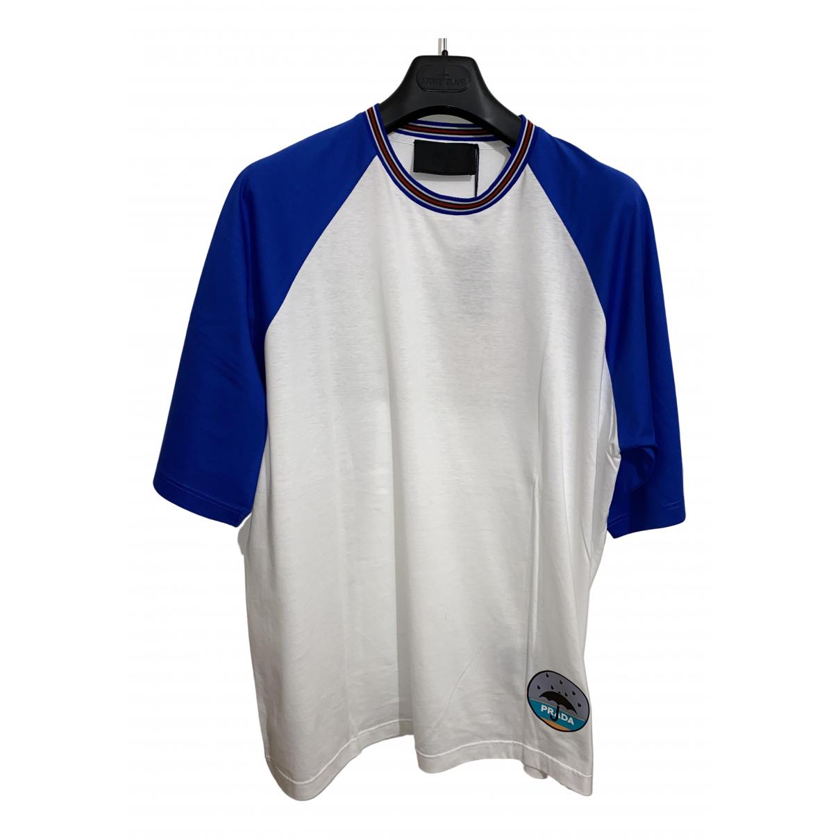 Prada \N Multicolour Cotton T-shirts for Men XL International
