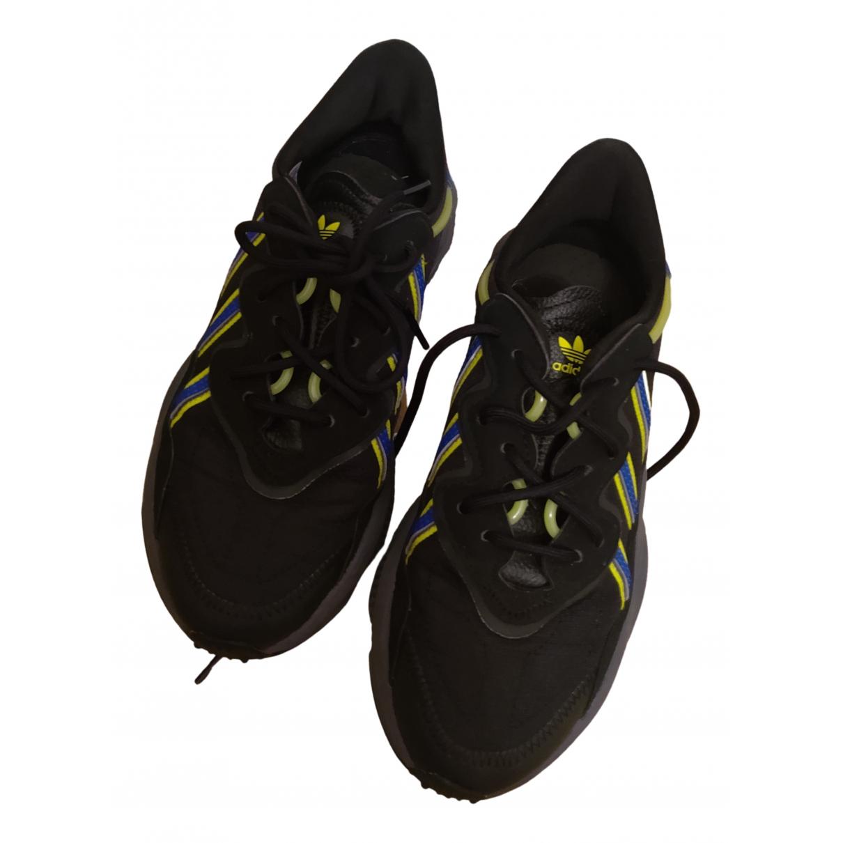 Adidas Ozweego Sneakers in  Blau Leder