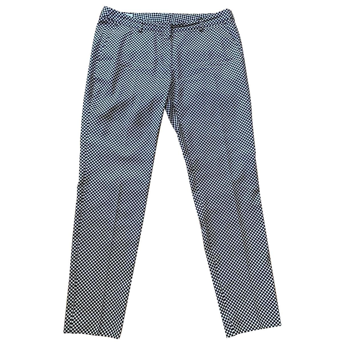 Dries Van Noten \N Silk Trousers for Women 40 FR