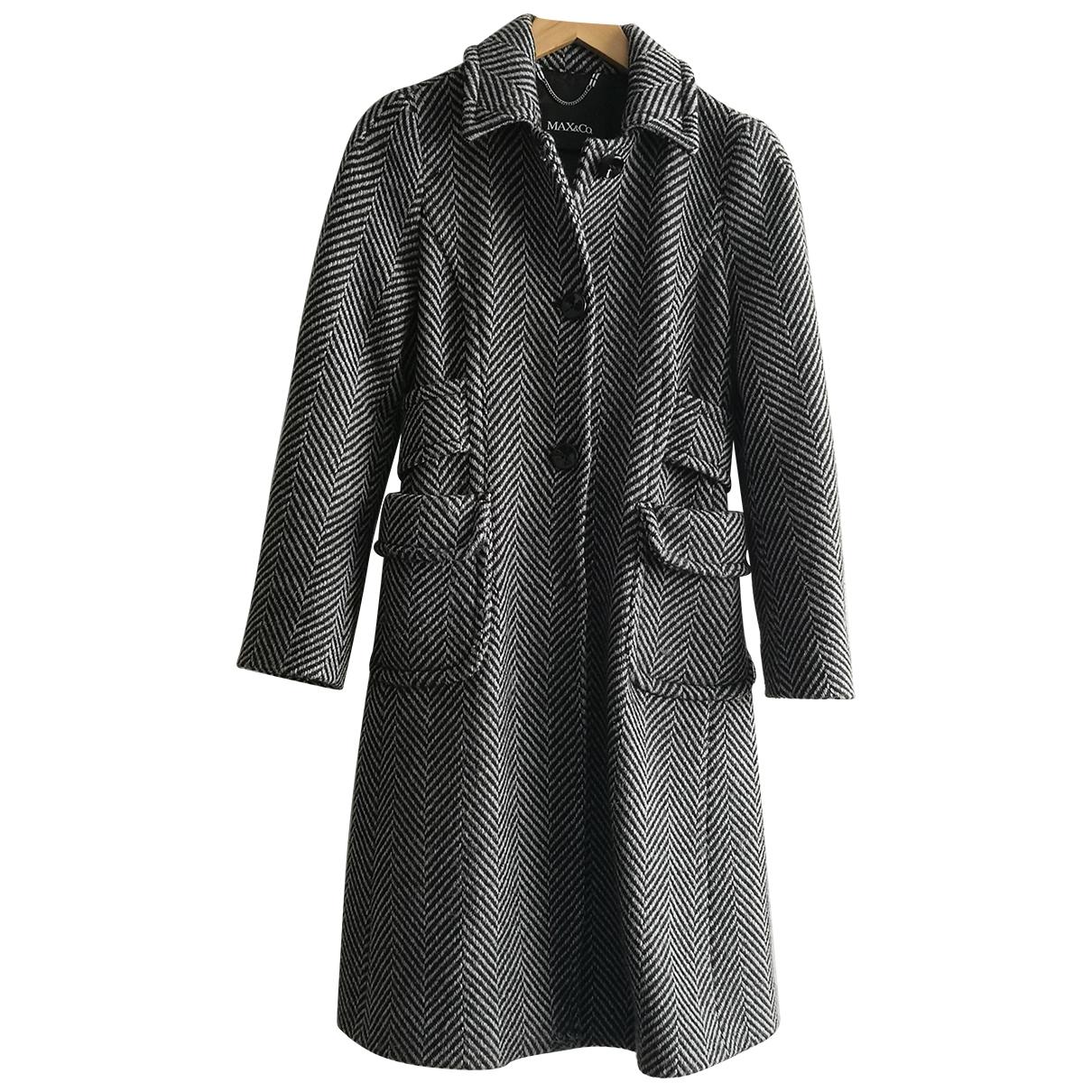Max & Co \N Maentel in  Grau Wolle