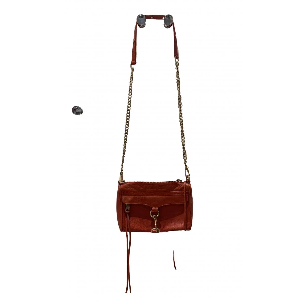 Rebecca Minkoff \N Handtasche in  Rot Leder