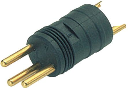 Binder Connector, 4 contacts Cable Mount M8 Plug, Solder IP65, IP67