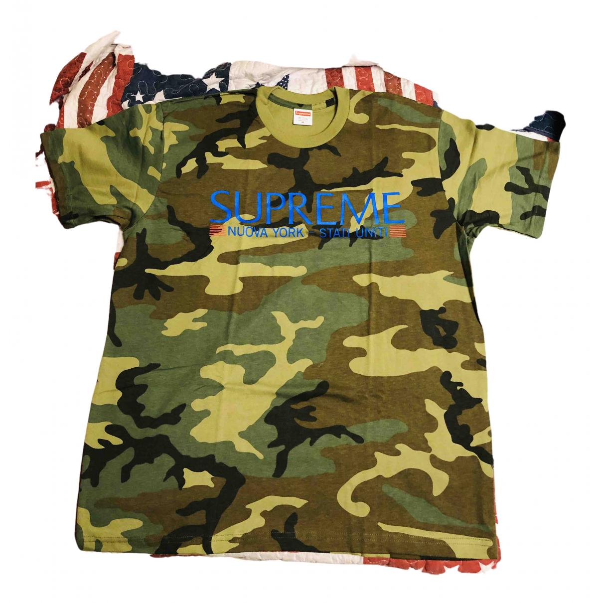 Supreme \N Multicolour Cotton T-shirts for Men M International
