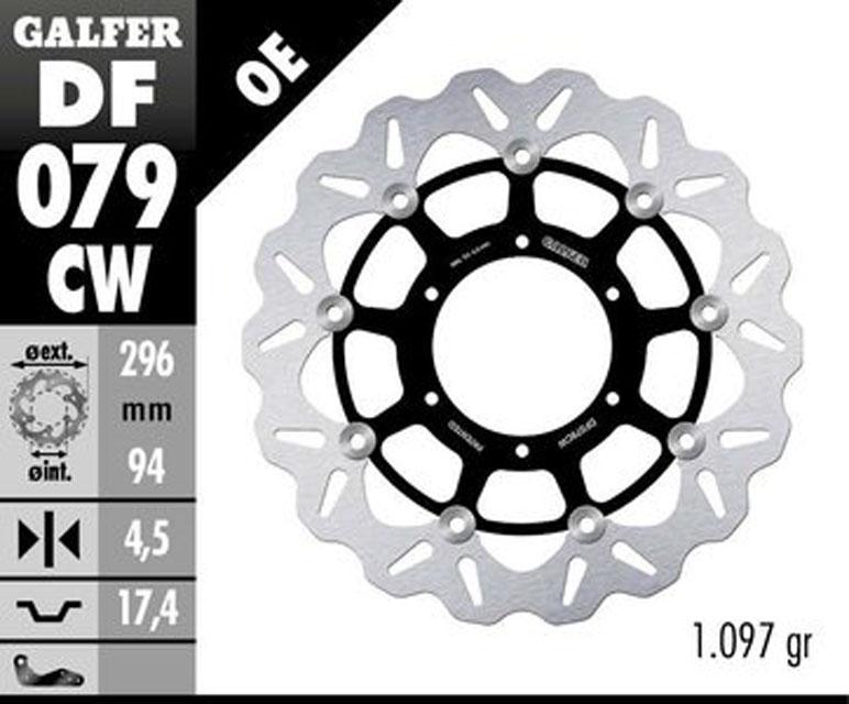 Galfer Front Brake Disc HONDA CBR 300 R