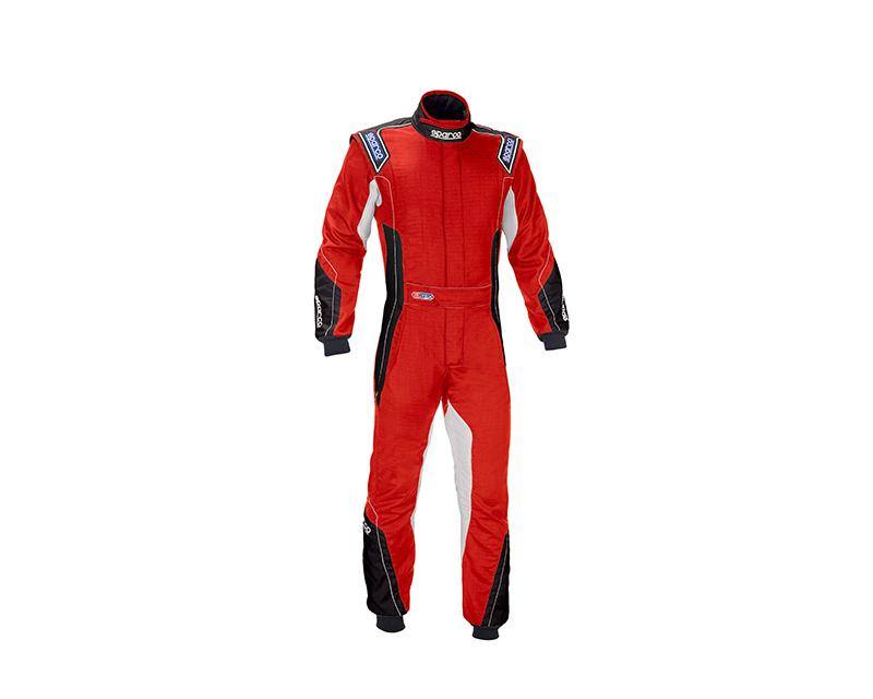 Sparco 001124H64RS Eagle RS-8 Red Racing Suit 64   XXL